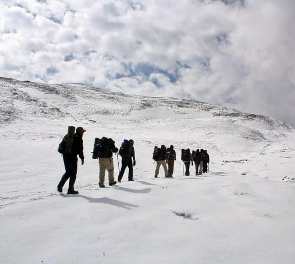 Trek to Roopkund and Ronti Saddle, Uttarakhand