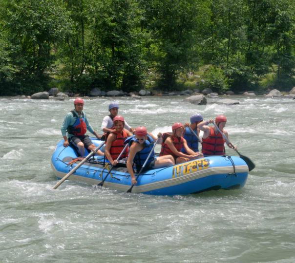 Rafting at River Beas in Kullu