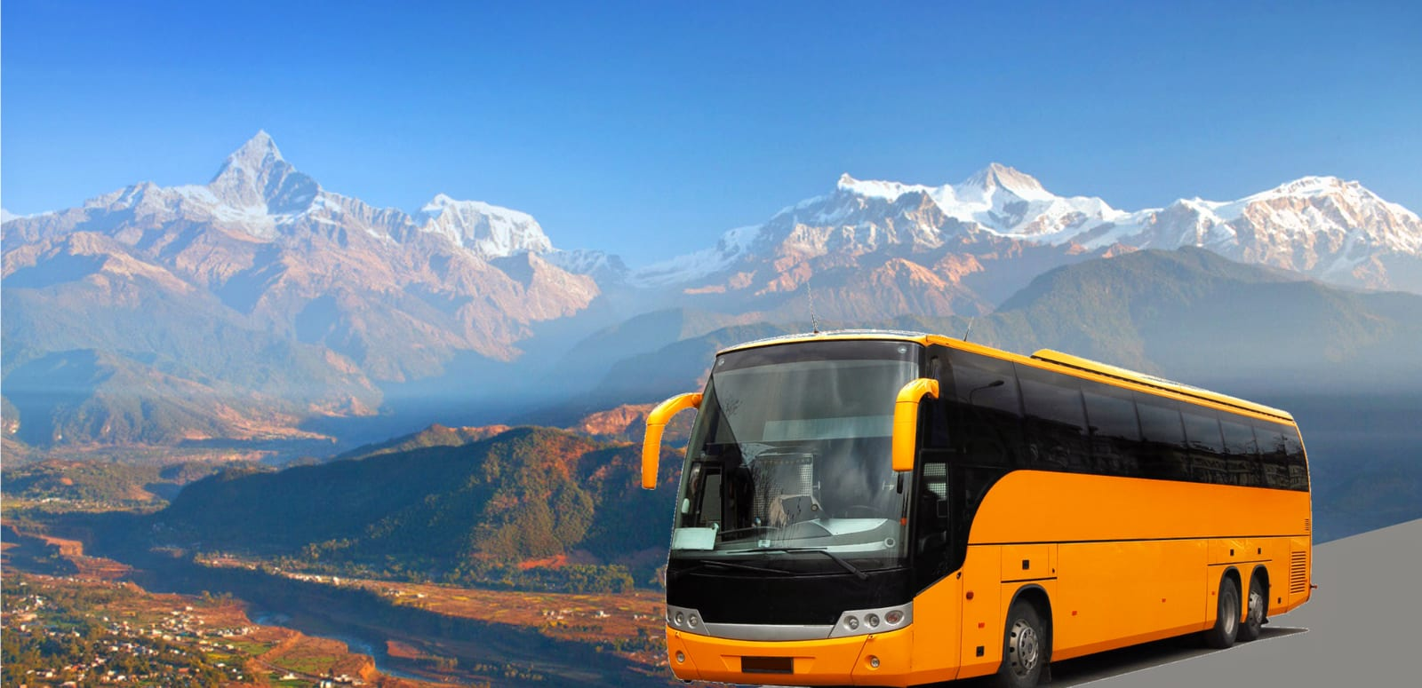 Kathmandu To Pokhara by Bus