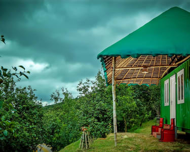 Camping Amidst Pear Orchard in Kodaikanal