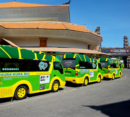 Kura Kura Bus Bali Day Pass- Flat 28% off