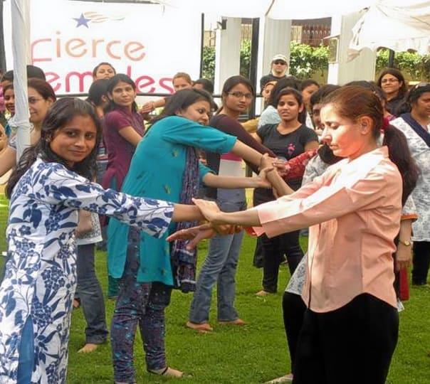 Self-Defense Training for Women Against Assault