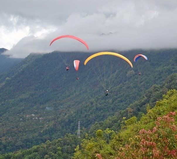 Paragliding in Kota Kinabula
