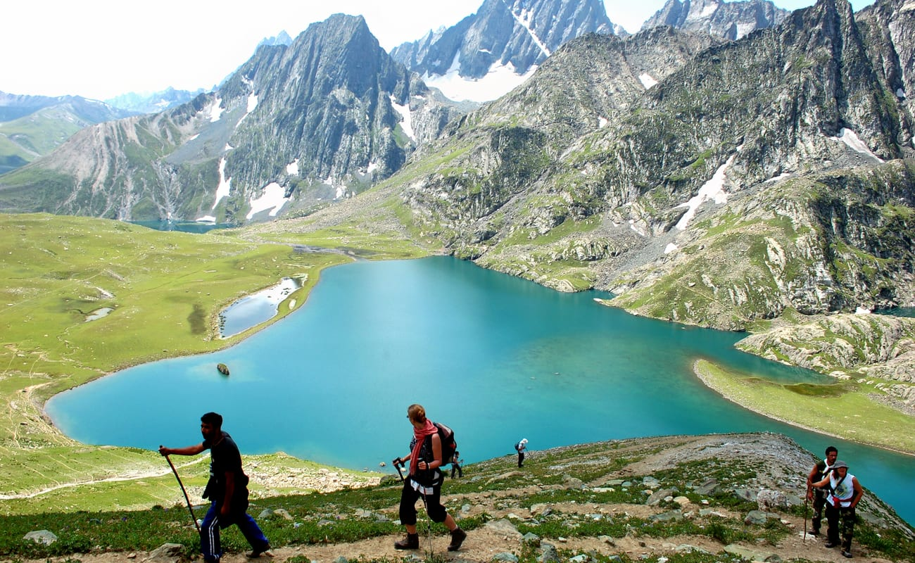 Image result for Kashmir Great Lakes Trek, Kashmir: