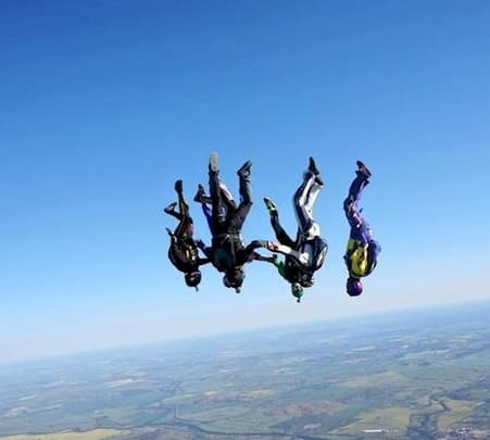 Skydiving at York in Australia