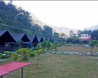 Budget Camp in Rishikesh