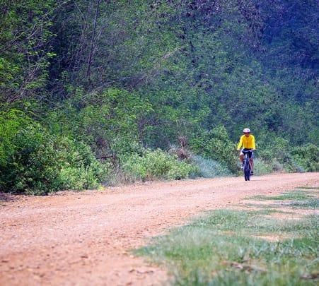 Trek to Achnar Pahar with Cycling in Khajuraho