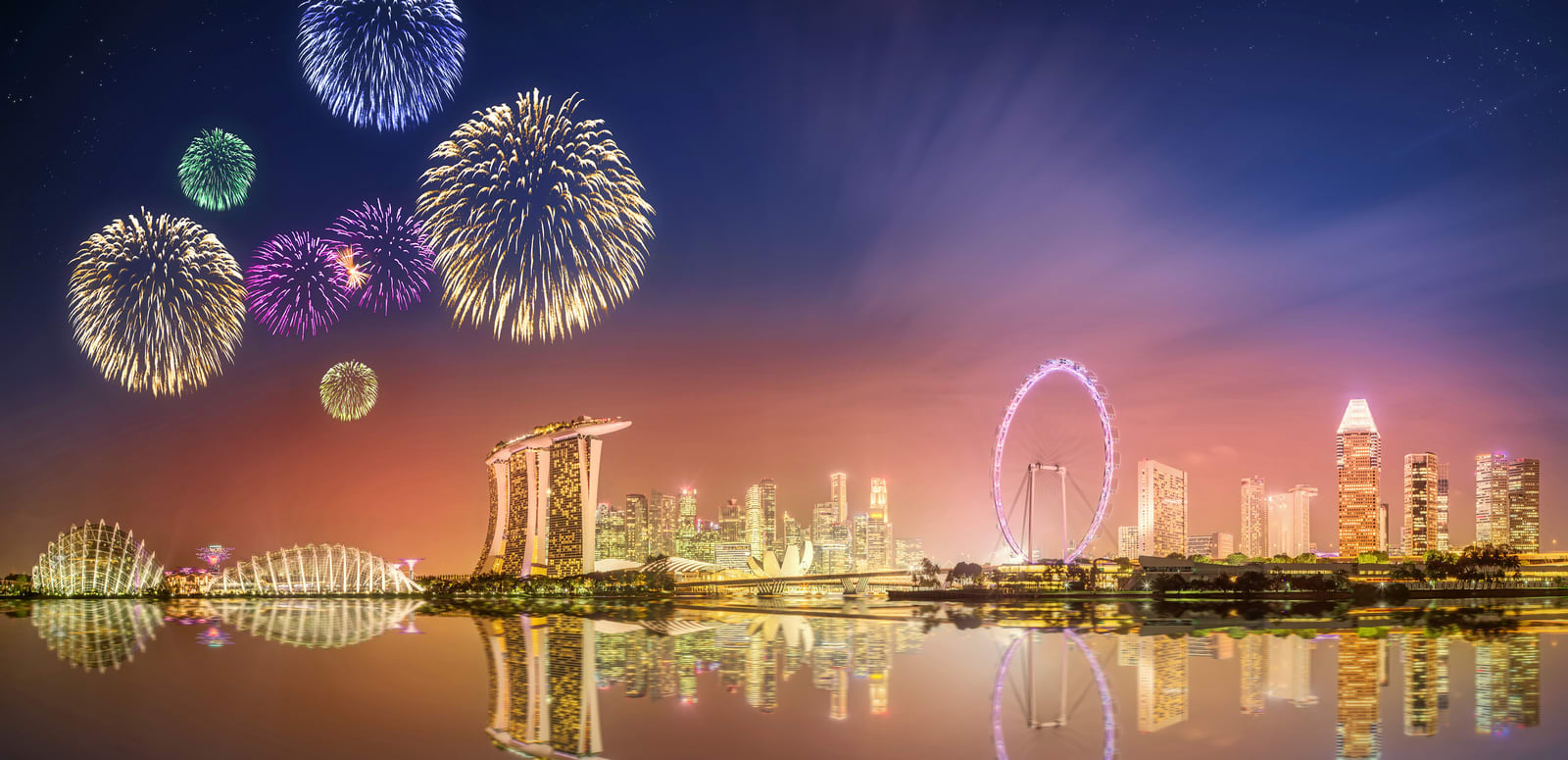 Singapore New Year 2020 - Things to Do, Fireworks, Parties