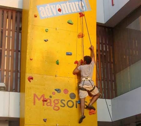 Magson's Wall Climbing at Porvorim in Goa