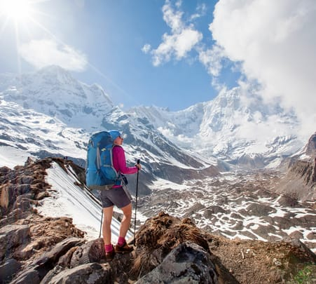 Rapid Annapurna Base Camp Trek in Nepal