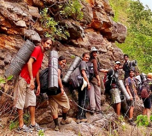 Adventure Stay and Trek to Tambdi Surla Waterfall
