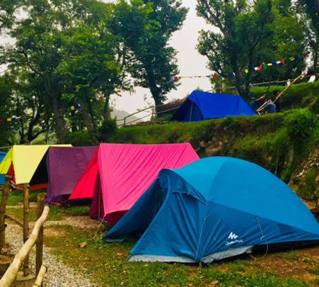 Camping with Scenic Views, Dharamshala Flat 20% off