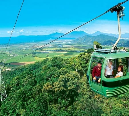 Visit to Kuranda Skyrail in Cairns