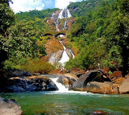 Trip to Dudhsagar in Goa