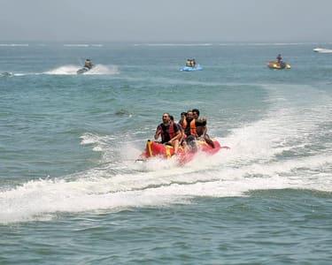 Banana Boat Ride at South Kuta in Bali