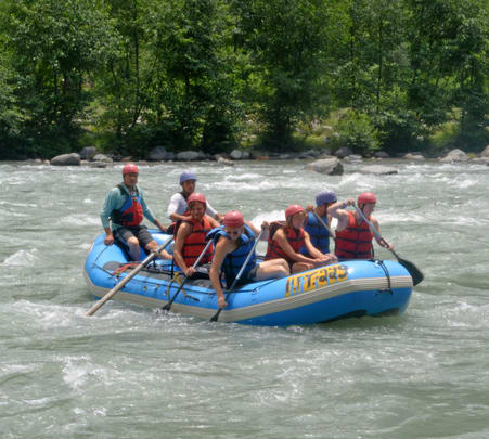 Rafting at River Beas in Kullu