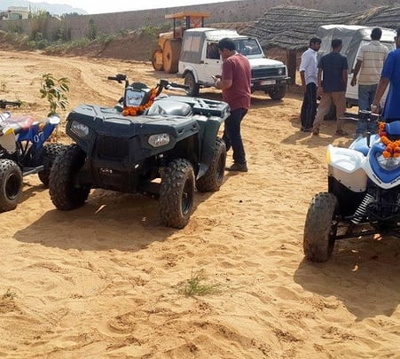 1 Hour Quad Biking Tour in Pushkar