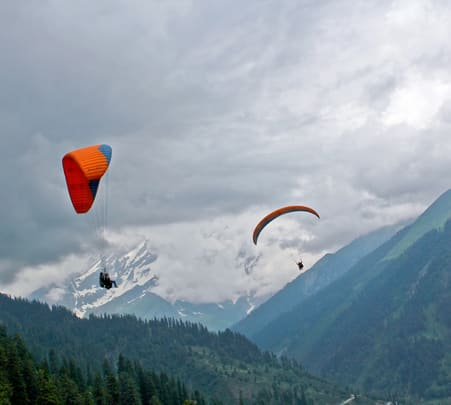 Paragliding in Kalimpong