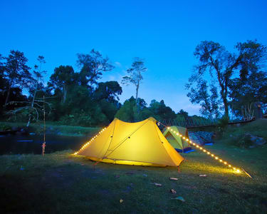 New Year Special Camping near Dubare Elephant Camp, Coorg