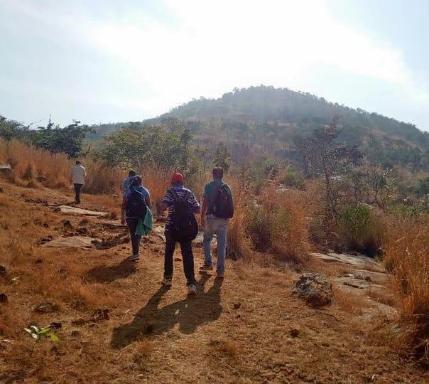 Trek to Chennagiri near Nandi Hills