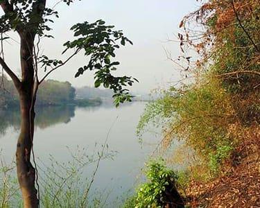 Riverside Camping in Bhatsa