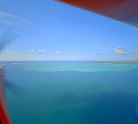 Cateau Vert Seaplane Ride over Mauritius