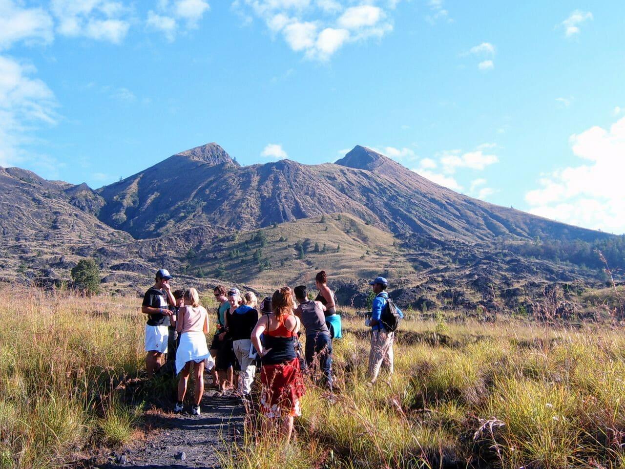 Trek to Mount Batur