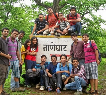 Trek to Naneghat Caves in Junnar, Pune
