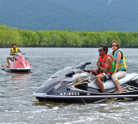 Buzzard Jet Ski Experience at Mangrove Eco Safari