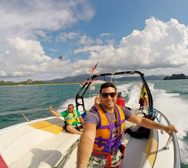 Private Free Style Cruising at Langkawi in Malaysia