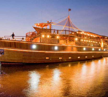 Abu Dhabi Dhow Cruise Flat 20% off