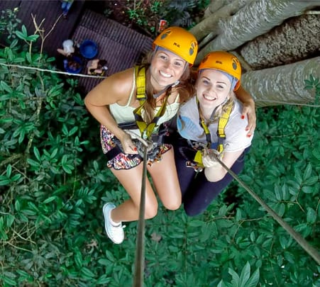 Flight of the Gibbon - Ziplining Tour at Chiang Mai