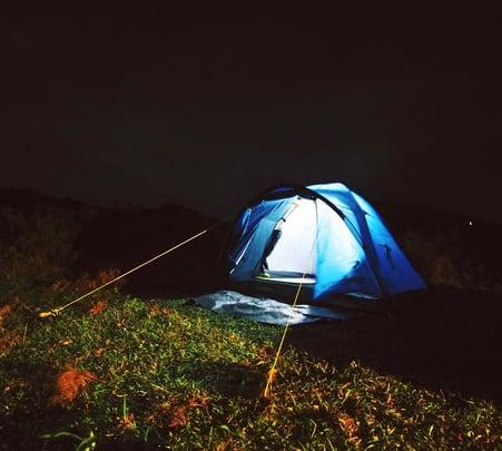 Hill-top Camping at Thangalpara Valley, Vagamon