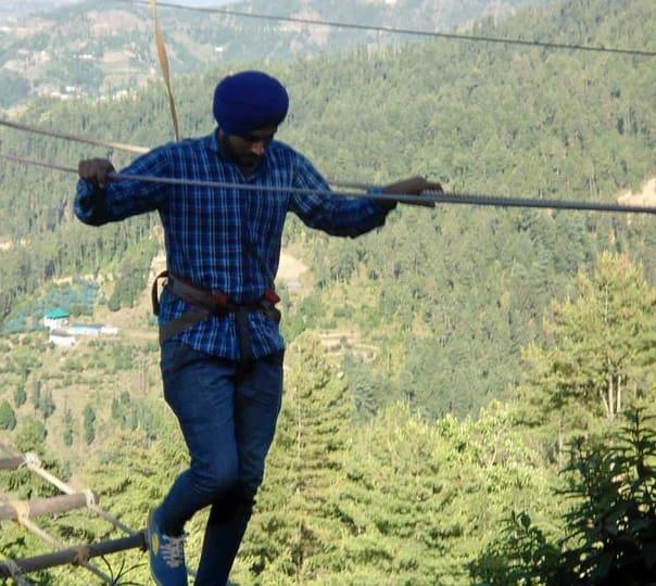 Adventure Trekking at Kufri