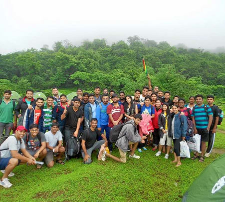 Monsoon Camping in Lonavala for Corporates