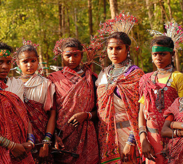 Chattisgarh Tribal Tours with Sightseeing Tour of Delhi