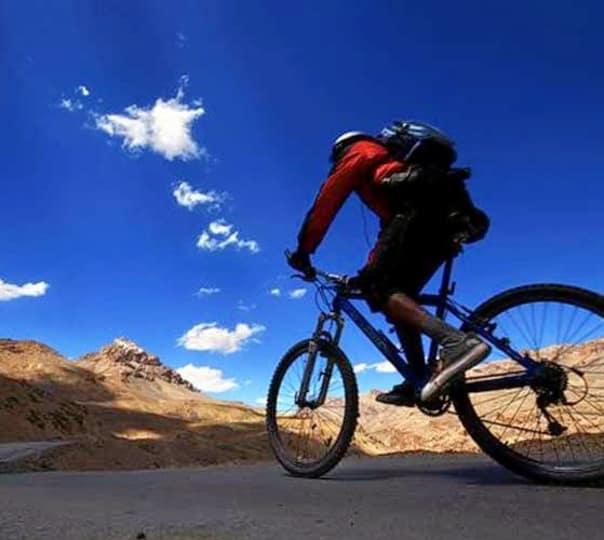 Cycling in Kangra Valley, Himachal Pradesh