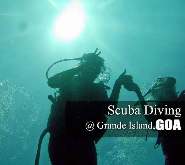 Scuba Diving at Grande Island in Goa