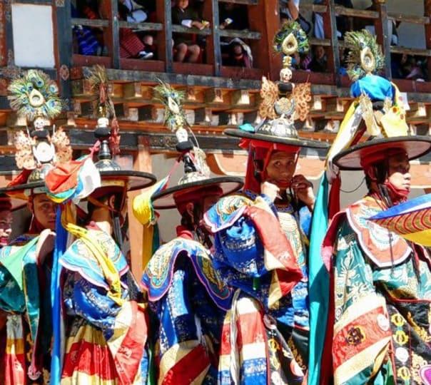 Celebrate Trongsa Festival in Bhutan