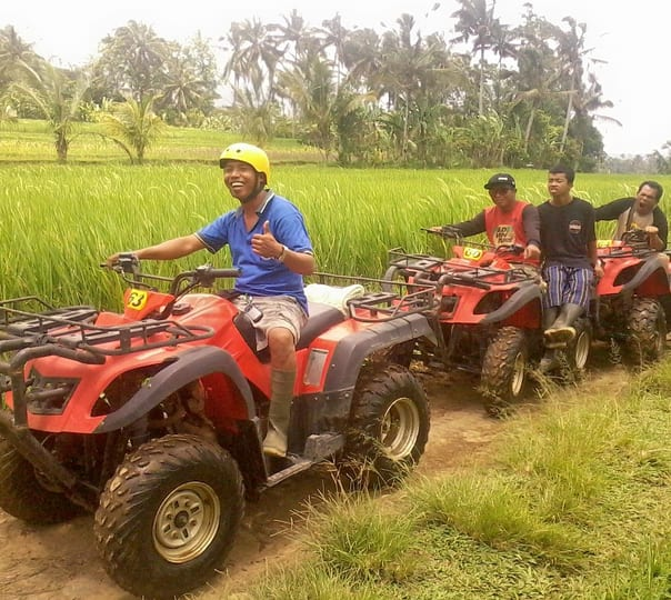 Jeep and Quad Bike Tour at Marga in Bali