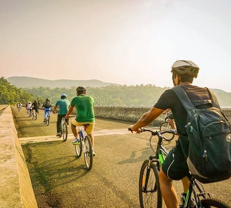 Cycle Ride from Karjat to Kondhana Caves