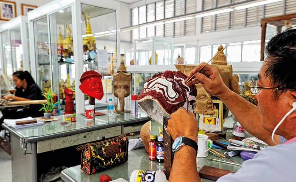 Art And Craft At Thai Village