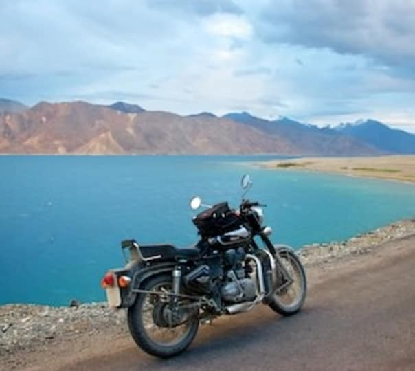 Motorcycle Ride from Leh to Manali