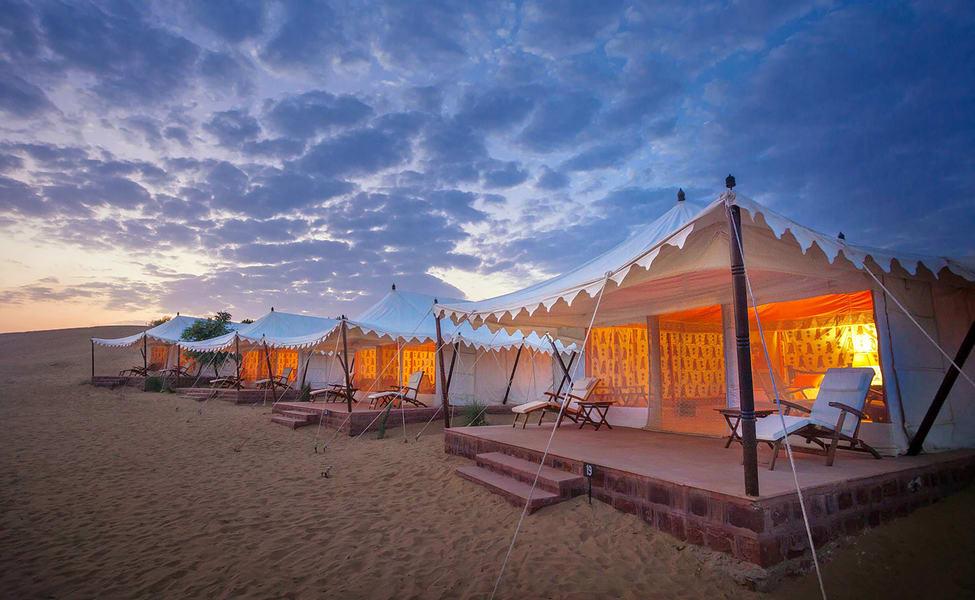Stay At Samsara Desert Camps In Jodhpur, Rajasthan