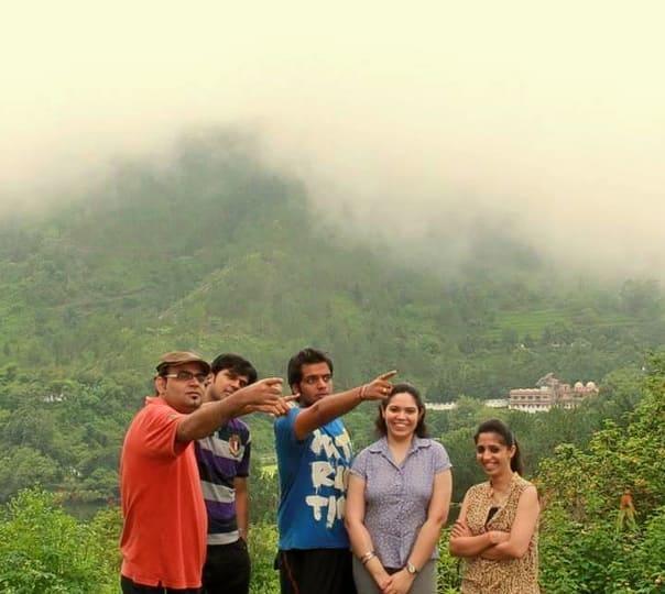 Camp Stay at Pangot in Uttarakhand