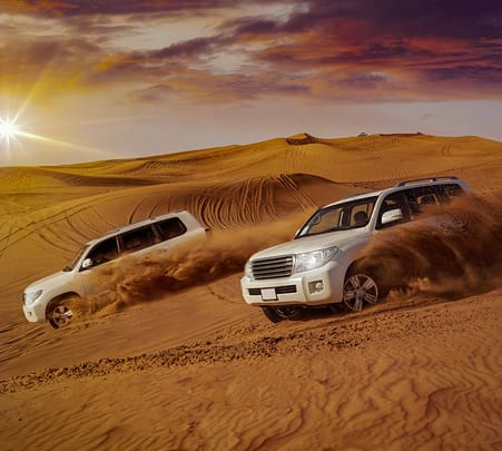 Dubai Desert Safari with Bbq Dinner- Flat 40% off