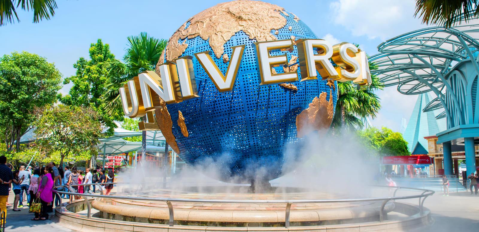 Combo Of Half Day Tour Of Sentosa Island & Universal Studio, Singapore