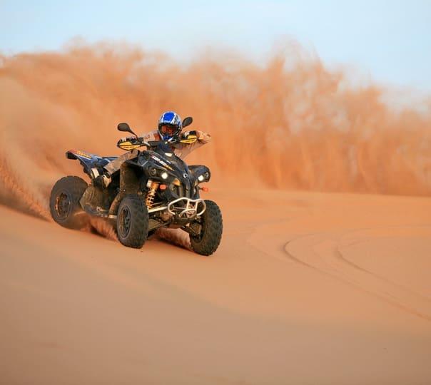 Evening Desert Safari Tour With Quad Biking