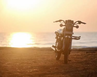 Rent a Bullet For a Day in Goa