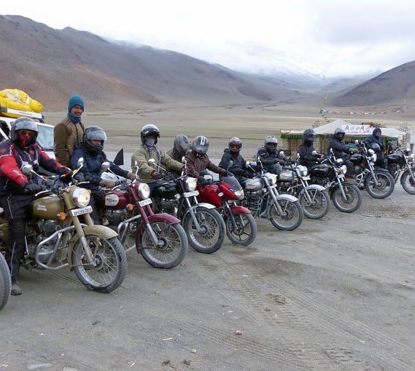 Bike Trip from Srinagar to Manali Via Leh